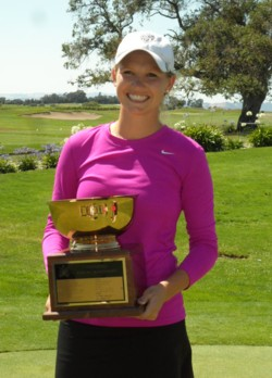 2012 California Women's Championship winner, Emily Talley. Photo Courtesy: amateurgolf.com