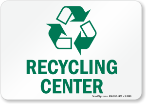 recycling-center-sign-s-7696